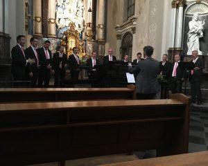 augustijnenkerk dordrecht concert met mannenensemble cantare