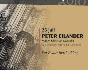 Bovenkerk van Kampen orgelconcert met Peter Eilander