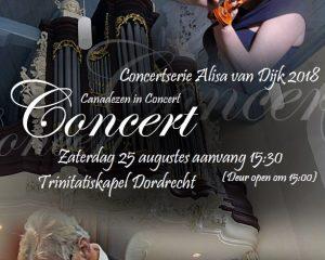 Canadezen in concert met Alisa van Dijk
