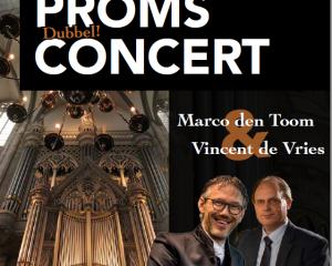 Domkerk van Utrecht dubbelconcert Vincent en Marco