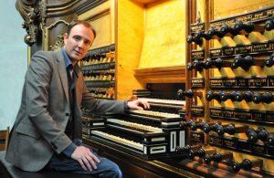Kamper organist Gerwin van der Plaats Bovenkerk