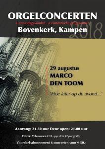 Marco den Toom laat in de avond Bovenkerk