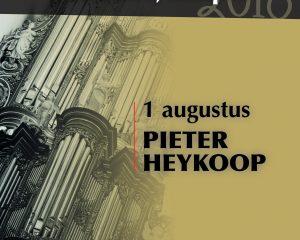 Pieter Heykoop speelt in de Bovenkerk van Kampen
