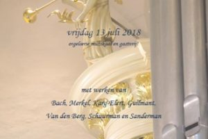 Sionskerk van Terschuur orgelconcert met Arjan Leistra