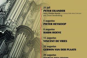 Zomer orgelconcert Bovenkerk Kampen 2018
