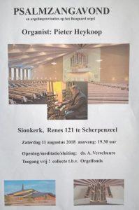 Sionskerk Scherpenzeel samenzangavond met Pieter Heykoop