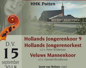 HHK Putten met het Hollands Jongerenkoor 9