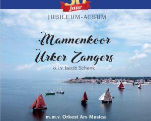cd 50 jaar jubileumalbum mannenkoor Urker Zangers
