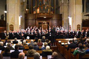 jubileumconcert petruskerk woerden met mannenkoor conforza