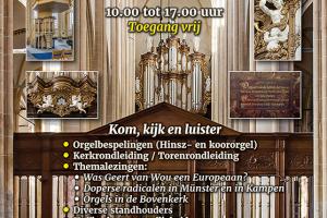 Bovenkerk van Kampen Open Monumentendag