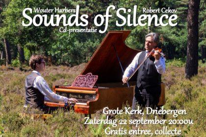 Grote kerk van Driebergen cd presentatie Sounds of Silence