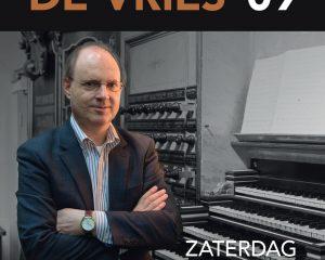 Immanuelkerk van Wageningen orgelconcert met Vincent de Vries