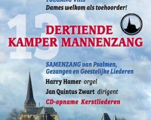Kamper Mannenzang voor de 13e keer in de Bovenkerk
