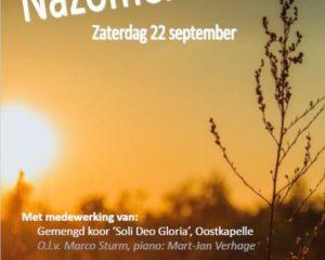 ieuwe kerk van Middelburg nazomerconcert