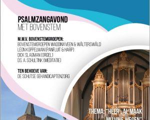 Oude kerk te Ede psalmzangavond met bovenstem