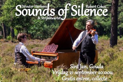 Sint-Jan van Gouda cd presentieconcert Wouter Harbers