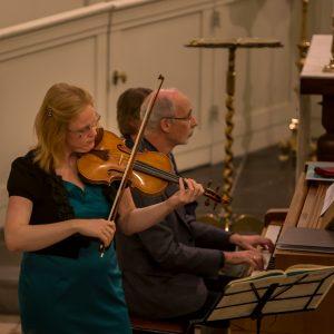 Trinitatiskapel van Dordrecht met Alisa en Hans Okkerse