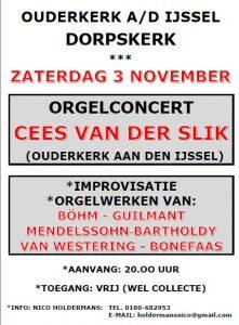 Dorpskerk Ouderkerk aan de IJssel met Cees van der Slik orgel