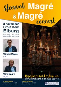 Grote kerk van Elburg Magre en Magre