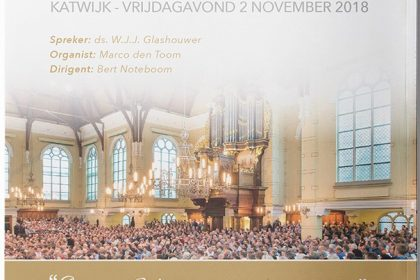 Katwijk Mannenzangavond november 2018 Volume 29