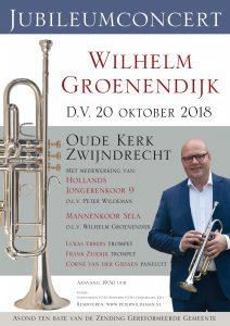 Oude kerk Zwijndrecht jubileumconcert Wilhelm groenendijk