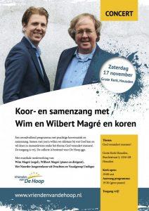 Grote kerk van Heusden samenzangavond met Wim en Wilbert
