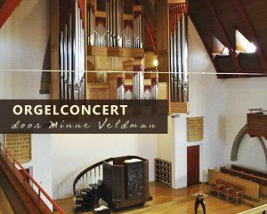 Julianakerk van Dordrecht orgelconcert Minne Veldman