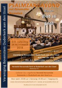 Ouderkerk psalmzangavond met Genemuider Bovenstem