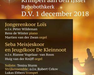 Rehobothkerk te Krimpen aan de IJssel kerstconcert