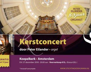 Koepelkerk te Amsterdam instrumentaal kerstconcert