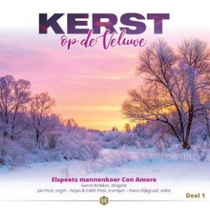 cd kerst op de veluwe van Elspeets mannenkoor Con Amore