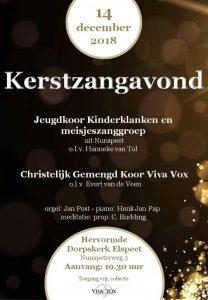 hervormde dorpskerk van Elspeet kerstzangavond met Viva Vox