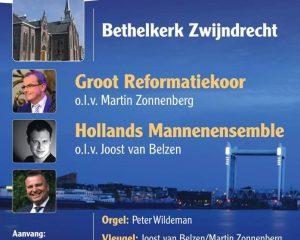 Bethelkerk te Zwijndrecht met het Groot Reformatiekoor