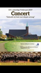 Bethelkerk van Genemuiden concert met mannenkoor Stereo