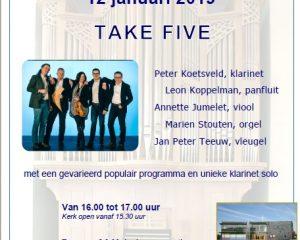 De Fontein te Nijkerk zaterdagmiddag concert
