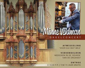 De Kandelaar te Assen orgelconcert met Minne Veldman