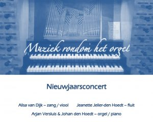 De Wijnstok te Dordrecht nieuwjaarsconcert
