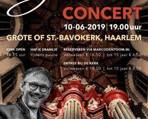 Grote kerk te Haarlem jubileumconcert Marco den Toomjpg