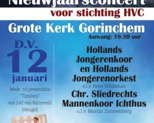 Hollands Jongerenkoor 9 geeft nieuwjaarsconcert in Gorinchem