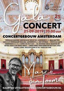 concertgebouw te amsterdam 25 jaar Marco den Toom