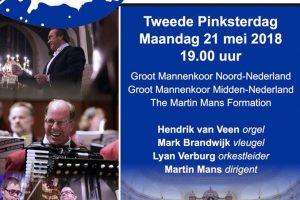 Amsterdams concertgebouw concert op 2e pinksterdag