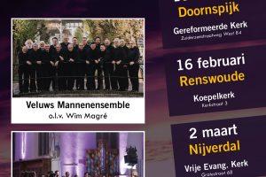 Koepelkerk te Renswoude concert met Magre