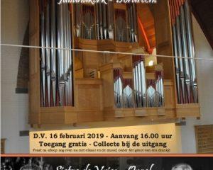 Julianakerk van Dordrecht feestelijk orgel- en vioolconcert