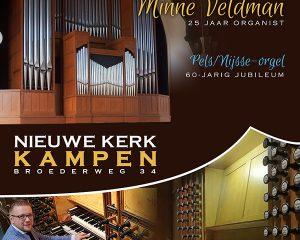 Nieuwe kerk te Kampen orgelconcert Minne Veldman