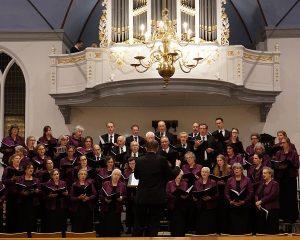 Oude kerk van Ede concert met psalmzangkoor Cresendo