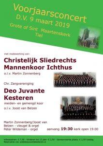 Sint Maartenskerk in Tiel voorjaarsconcert