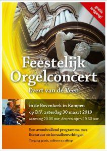 Bovenkerk in Kampen feestelijk orgelconcert