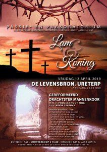 De Levensbron te Ureterp paasoratorium Lam en koning
