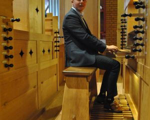 Dirk Jan Versluis speelt Bach in Julianakerk Dordrecht