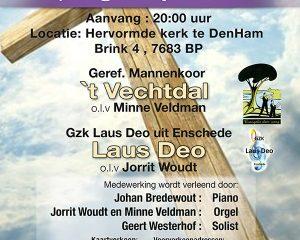 Hervormde kerk te Den Ham passieconcert
